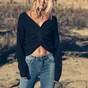 Sage The Label Heartthrob Twist Sweater